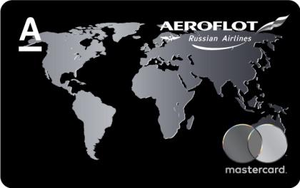 Дебетовая карта Аэрофлот Premium Альфа-Банк